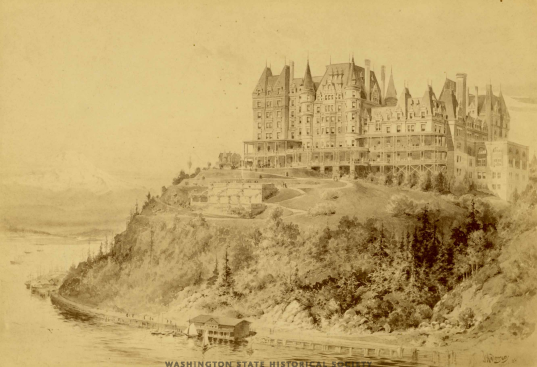 1890 Hotel that never was