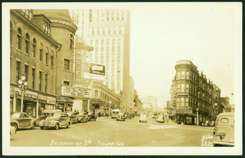 9th & Broadway Wntr1940