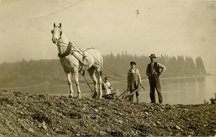 Cromwell plowing