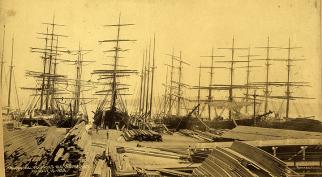 lumber schooners 1888