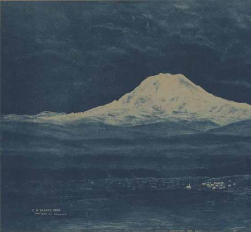 Mt Tacoma 1886