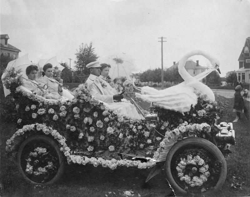 parade car
