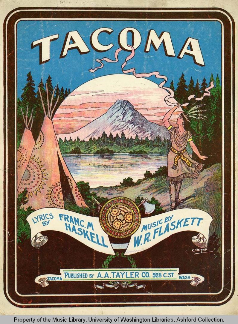 Tacoma sheet music
