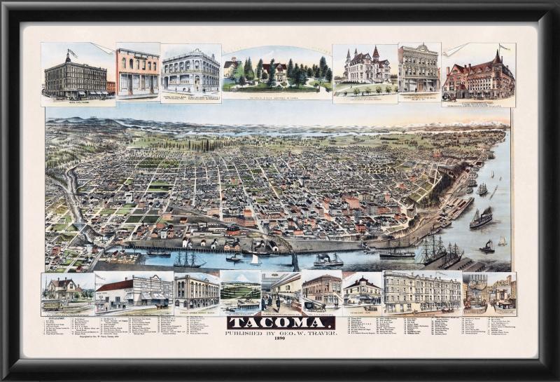 Tacoma WA 1890 George W. Traver