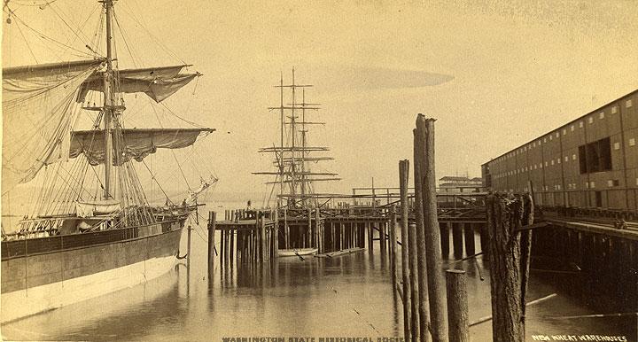 wheat ships 1889