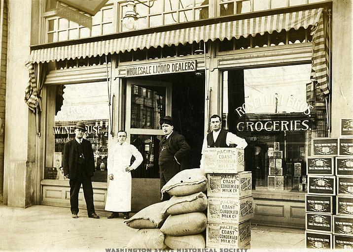 Rosillin store 1914
