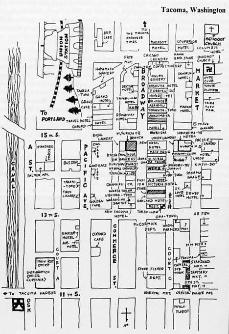 Map Japantown