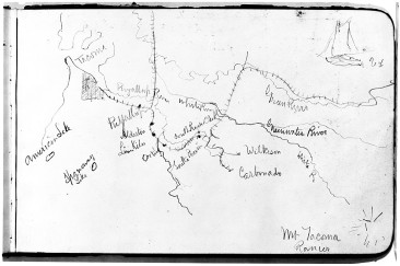 Bierstadt's map of Tacoma 1885