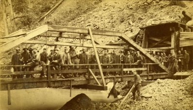 1885 Carbonado Miners