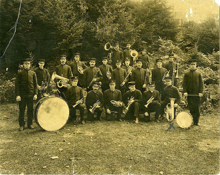 1908, Miner's Band