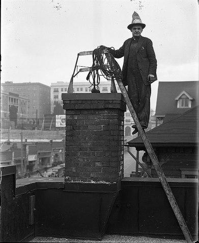 Chimney Sweep Dec 1927