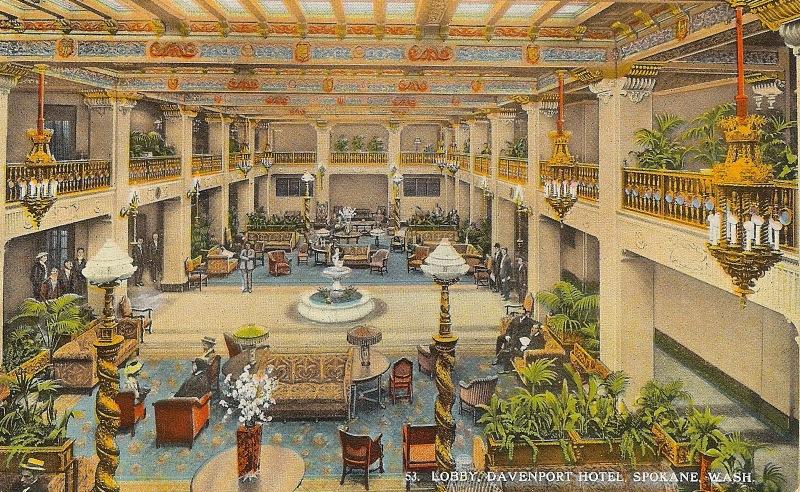 Davenport Hotel, Spokane