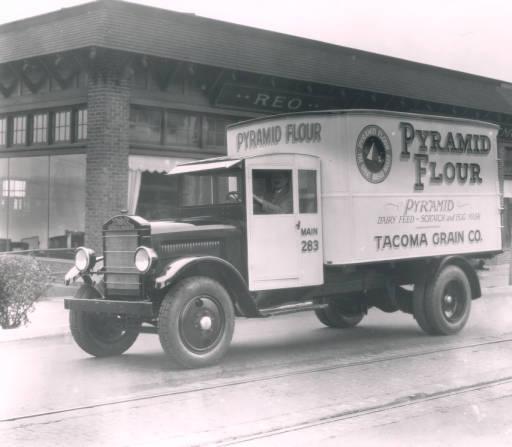 Pyramid Flour truck