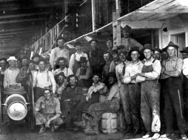 1920, WORKERS AT HLF, sumner