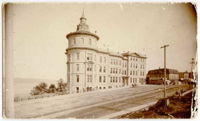 Northern Pacific Railway Building 1889
