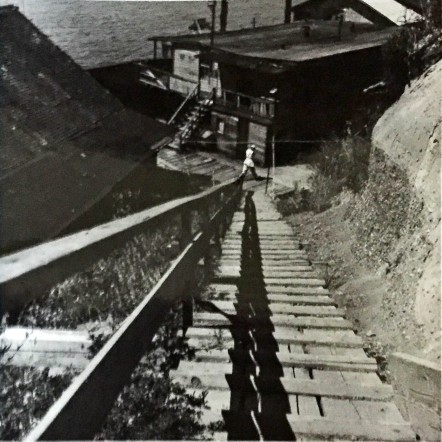 boathouse Salmon Beach.stairs 1915