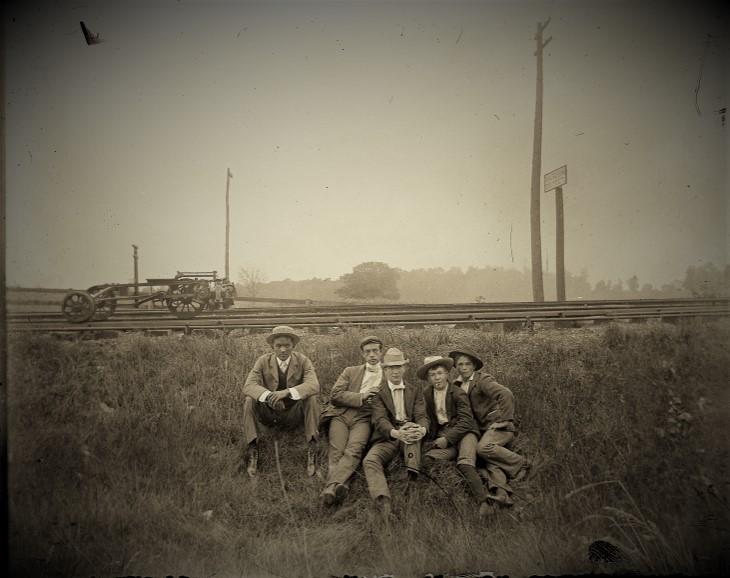 boys by the tracks j