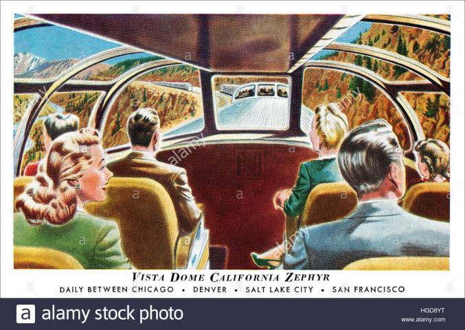 PNW.1950s-us-postcard-of-the-vista-dome-in-a-california-zephyr-train-HGD8YT