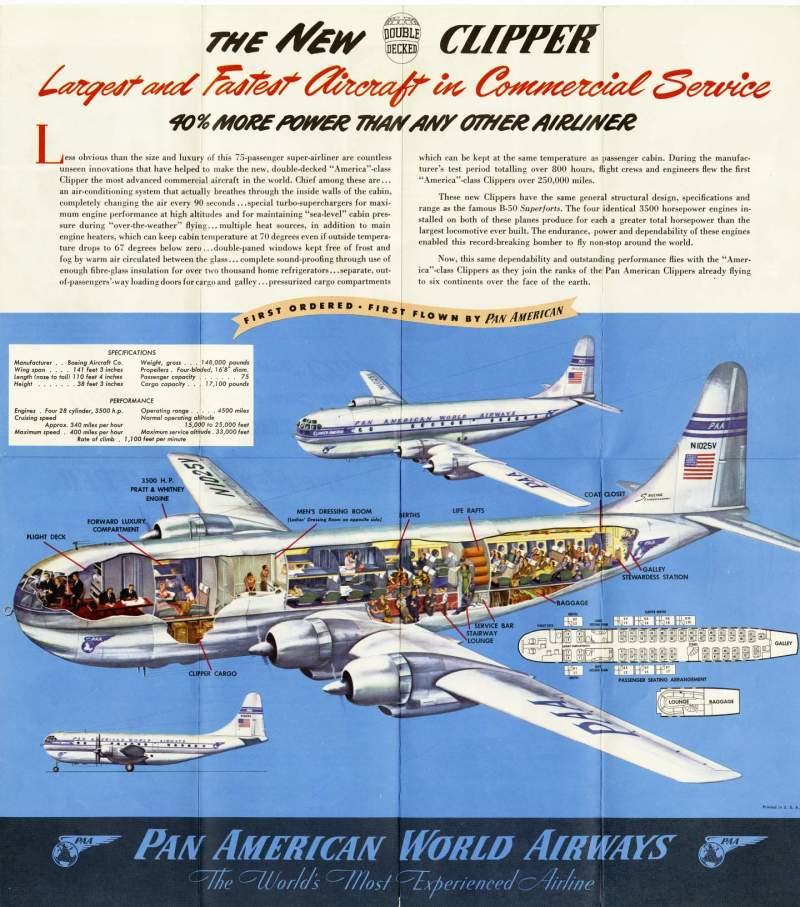 Boeing stratocruiser cutaway