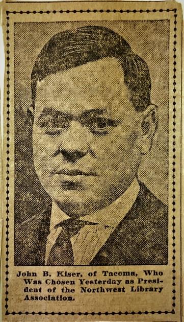 John Kaiser, ca.1920